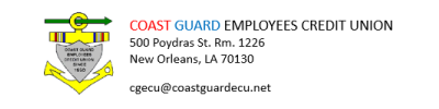 Coast Guard Employees Credit Union Logo